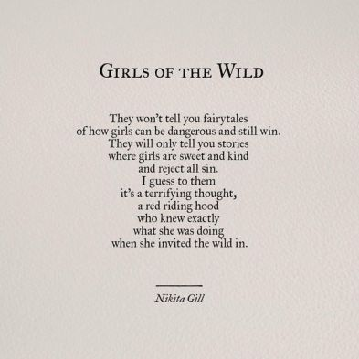 girls of the wild